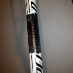 Specialized Down Tube.  Wrapped with carbon fiber.