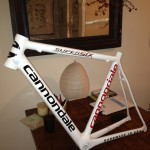 Cannondale SuperSix - Repaired, New Decals, Paint and Clear Coat.