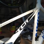 Giant TCR - Repaired with new paint and decals