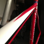 Cannondale Top Tube Repaired.